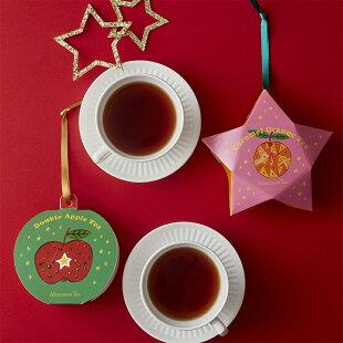 オーナメントティーダブルアップルティー【アフタヌーンティー・ティールーム】【紅茶アフタヌーンティークリスマスオーナメントプチギフト紅茶かわいいおしゃれ】
