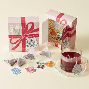 ハイビスカスベリーティースプリングボックス【アフタヌーンティー・ティールーム】【紅茶スプリングプチギフト紅茶かわいいおしゃれ】
