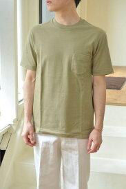 【Scye/Scye BASICS メンズ】【セール30%OFF】度詰め吊り天竺丸胴Tシャツ/5118-21580*CS#GH*