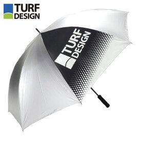 [2019年モデル] 朝日ゴルフ TURF DESIGN ターフデザイン 軽量 アンブレラ TDPS-1970 SIL シルバー 【あす楽休止中】