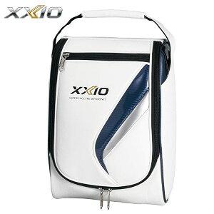 [2020年モデル] ダンロップ XXIO ゼクシオ メンズ フラッグシップモデル シューズケース GGA-X109 ホワイト×ネイビー