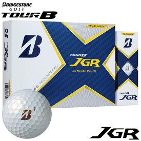 [2021年モデル] ブリヂストン TOUR B JGR ツアーB ジェイジーアール ゴルフボール 1ダース(12球入り) パールホワイト 【あす楽対応】