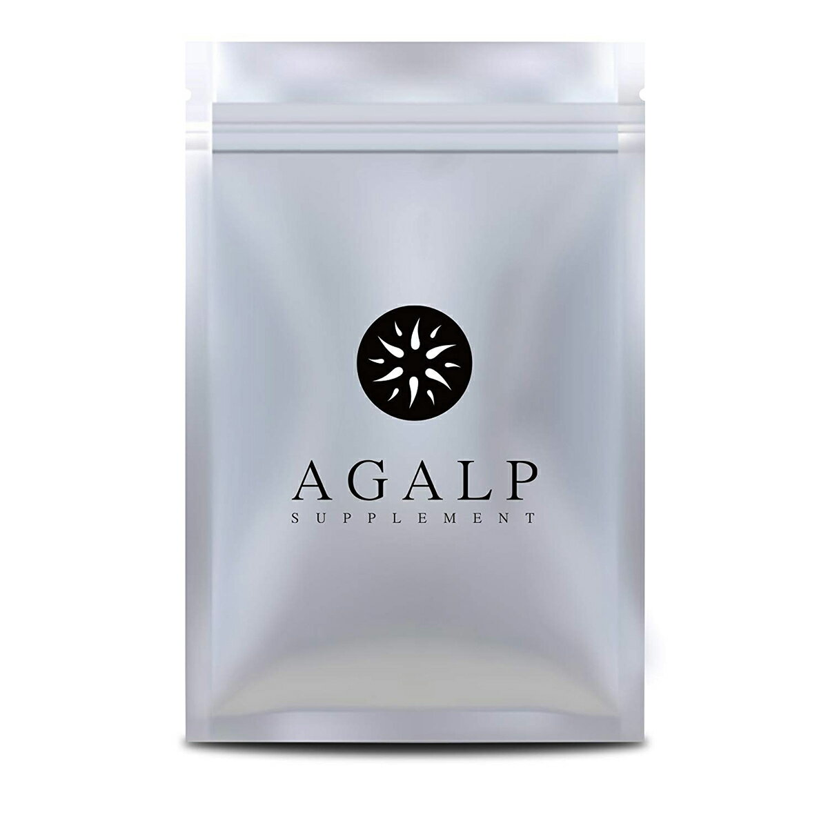 AGALP 育毛 サプリ ノコギリヤシ 亜鉛 育毛 発毛 薄毛 抜け毛 120粒×1袋