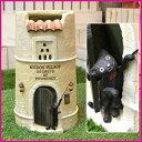 【あす楽対応商品】 黒ネコがワンポイントの可愛いレストランの傘たて 傘立て かわいい 送料無料 猫 アンブレラスタンド 送料込み SCZ-0416
