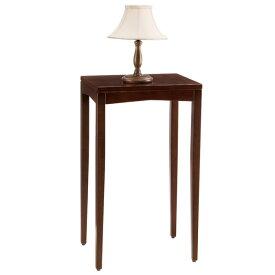 【送料無料】シンプルなデザインの木製ハイスタンド サイドテーブルシェルト0505BR