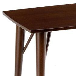送料無料代引き不可商品幅75北欧調細身木製リビングテーブル(ESCORTエスコート6209-7209)新生活