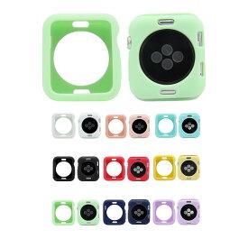Apple Watch Series 6/5/4 Apple Watch SE ケース/カバー 耐衝撃 シリコン ケース/カバー 44mm用 シンプルでおしゃれなアップルウォッチ シリーズ4用カバー
