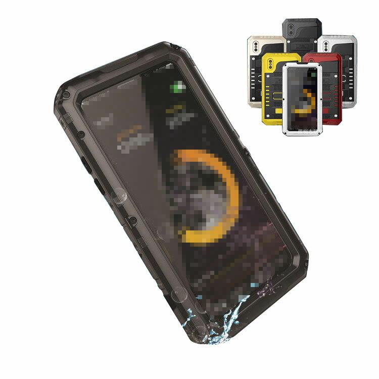 apple iphone X ケース/カバー 耐衝撃 アイフォンX カバー 防塵 防水 アーマーケース/カバー iphoneX アウトドア スポーツ タフケース/カバー メタル/金属 アップル おすすめ おしゃれ スマホケース/カバー