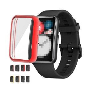 Huawei Watch Fit  ケース/カバー TPU クリア ファーウェイウォッチ Fit メッキ ソフトケース