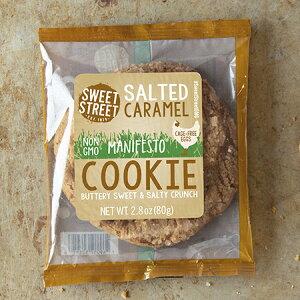 ソルトキャラメルクッキー個装(6個入り)Salted Caramel Cookie Wrapped ※メーカーより直送のため【SWEET STREET】以外の商品と同梱不可