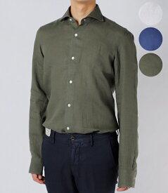【2019年春夏 SALE】バルバ/BARBA シャツ メンズ DANDYLIFE カッタウェイシャツ 2019年春夏新作 LIU136-5853