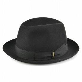 【2019年春夏 SALE】ボルサリーノ 帽子 BORSALINO ハット メンズ QUALITA SUPERIORE NERO 111160-1160-0421