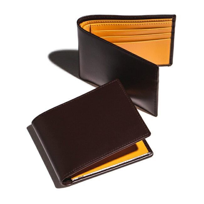 エッティンガー/ETTINGER 財布 メンズ Bridle Hide 2つ折り財布 ブラウン BH030CJR-0001-0003
