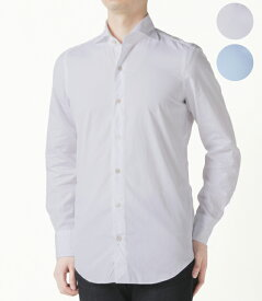 【2020年春夏SALE】フィナモレ/FINAMORE シャツ メンズ TRIESTE ドレスシャツ 2020年春夏 SIMONE-140001