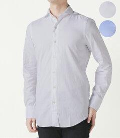 【2020年春夏SALE】フィナモレ/FINAMORE シャツ メンズ TRIESTE ドレスシャツ 2020年春夏 SIMONE-840002