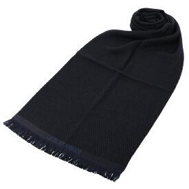 ジョルジオアルマーニ/GIORGIO ARMANI ストール メンズ マフラー BLACK 2020年秋冬新作 745213-0A124-00020