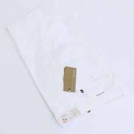 【2019年春夏 SALE】インコテックス/INCOTEX パンツ メンズ SKIN FIT コットンパンツ ホワイト 1ST691-90664-001