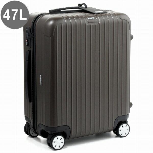 リモワ/RIMOWA キャリーバッグ メンズ SALSA スーツケース 47L ブラウン 2018年春夏新作 81056384-0001-0020