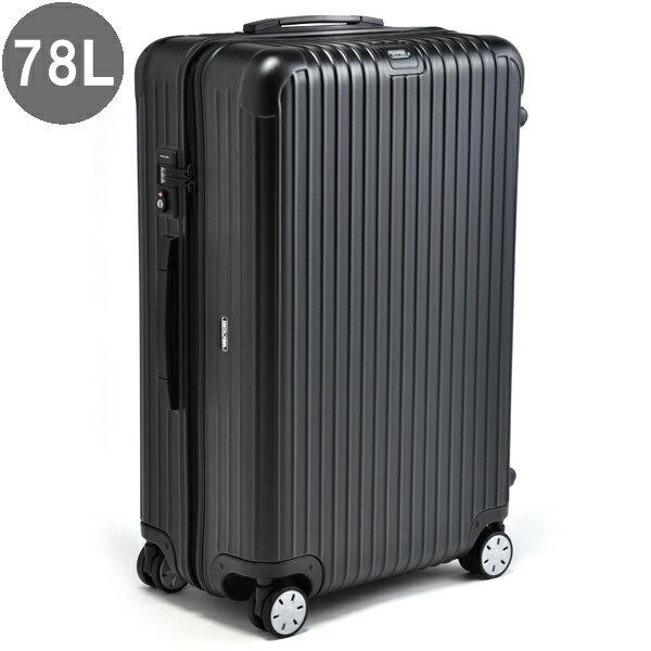 リモワ/RIMOWA キャリーバッグ メンズ SALSA スーツケース 78L ブラック 83470 81070324-0001-0007