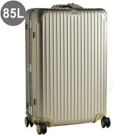 リモワ/RIMOWA キャリーバッグ メンズ TOPAS TITANIUM スーツケース ELECTRONIC TAG(エレクトロニックタグ) 85L シャンパンゴールド 92473035-0002-0014