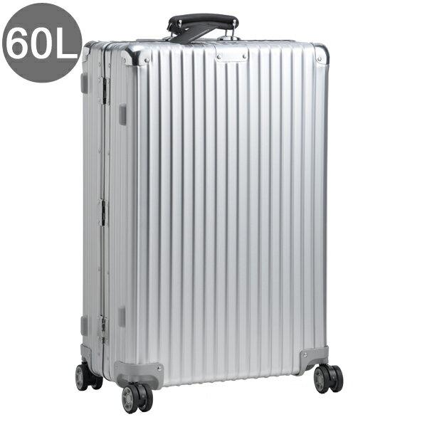 リモワ/RIMOWA キャリーバッグ メンズ CLASSIC FLIGHT スーツケース 60L シルバー 97463 97163004-0002-0013