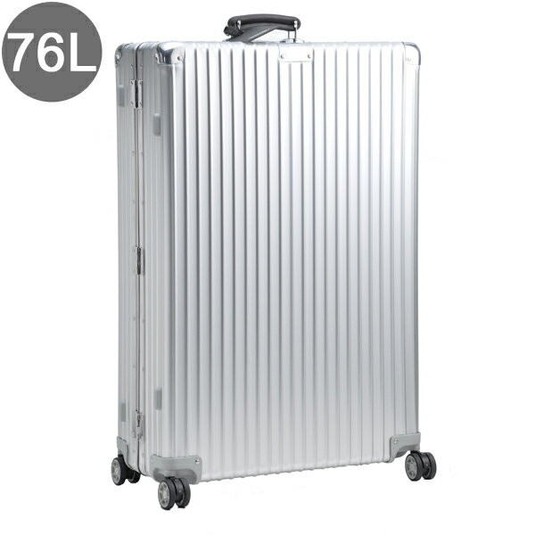 リモワ/RIMOWA キャリーバッグ メンズ CLASSIC FLIGHT スーツケース 76L シルバー 97470 97170004-0002-0013