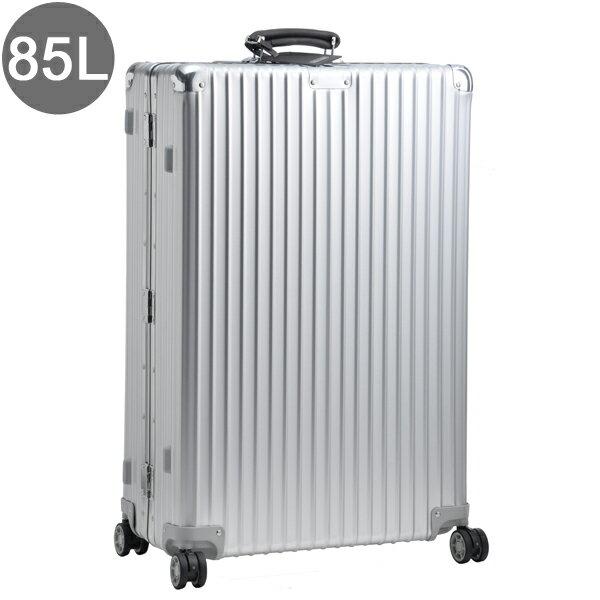 リモワ/RIMOWA キャリーバッグ メンズ CLASSIC FLIGHT スーツケース 85L シルバー 97473 97173004-0002-0013