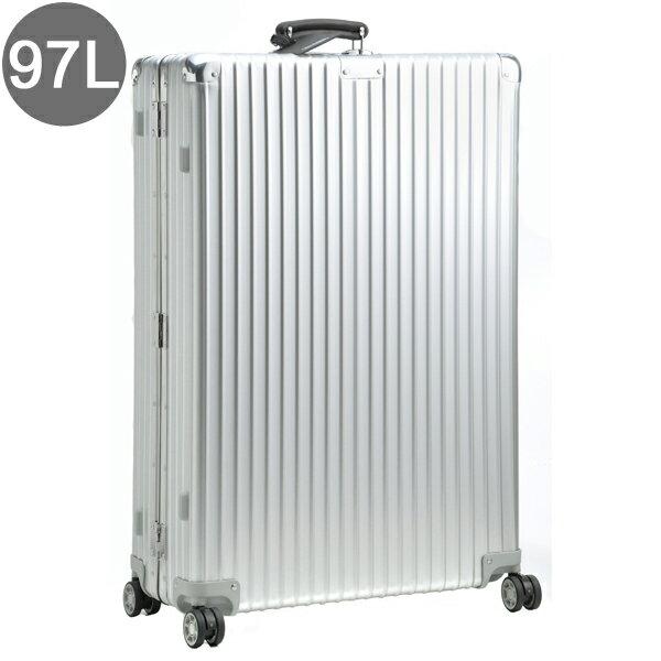 【数量限定セール】リモワ/RIMOWA キャリーバッグ メンズ CLASSIC FLIGHT スーツケース 97L シルバー 97477 97177004-0002-0013