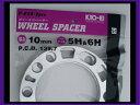 【KYO-EI 4WD用 10mmスペーサー 2枚入り】5&6穴共通 PCD139.7 汎用タイプ 品番P016-2P