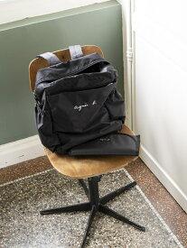 ENFANT/(K)GL11 E BAG マザーズバッグ agnes b. ENFANT アニエスベー マタニティー/ベビー ママバッグ/ポーチ ブラック【送料無料】[Rakuten Fashion]