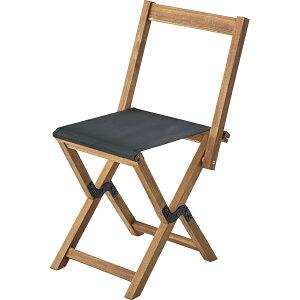 フォーディングチェア NX-530BK ブラック / 折りたたみ ポータブル チェア 腰掛 椅子 簡易 屋外 屋内 アウトドア 兼用 ベンチ ソファ キャンプ 海水浴 海 プール 木製 おしゃれ アジアン BBQ グラ