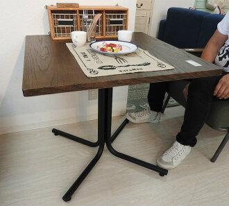 다리오 카페 테이블 정방형 END-223 TBR 브라운 사각 식탁 소파 테이블책상 식탁 북유럽 목제 스틸 우드 멋쟁이 인테리어 가구 신생활 독신 생활