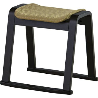 I stack Buddhist memorial service stool BC-1050FGD gold gold tree rubber Wood wooden Japanese-style room Japanese style tatami mat chair chair legless chair and embroider it