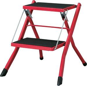 アシスタステップ台 pc-334rd レッド 折りたたみ 踏み台 ステップ台 持ち運び簡単 スツール 椅子 イス 子供 キッズ 腰掛け オットマン キャンプ アウトドア 野外ライブ ミリタリー アウトドア