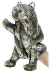 HANSA 4029 ウォンバット23 ハンドパペット 全長:23cm WOMBAT BH4029 ぬいぐるみ ハンサ クリスマス 誕生日 プレゼント 動物 犬 猫 鳥 うさぎ ペンギン アニマル 置物 人形 フィギュア KOESEN ケーセン カロラータ 大きい マスコット