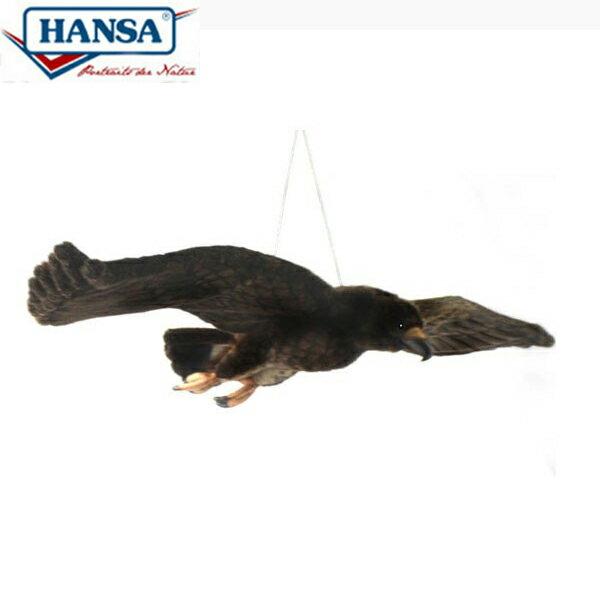 HANSA 4488 イヌワシ135 全長:135cm GOLDEN EAGLE FLY BH4488 ぬいぐるみ ハンサ クリスマス 誕生日 プレゼント 動物 犬 猫 鳥 うさぎ ペンギン アニマル 置物 人形 フィギュア KOESEN ケーセン カロラータ 大きい マスコット 実物大 大型