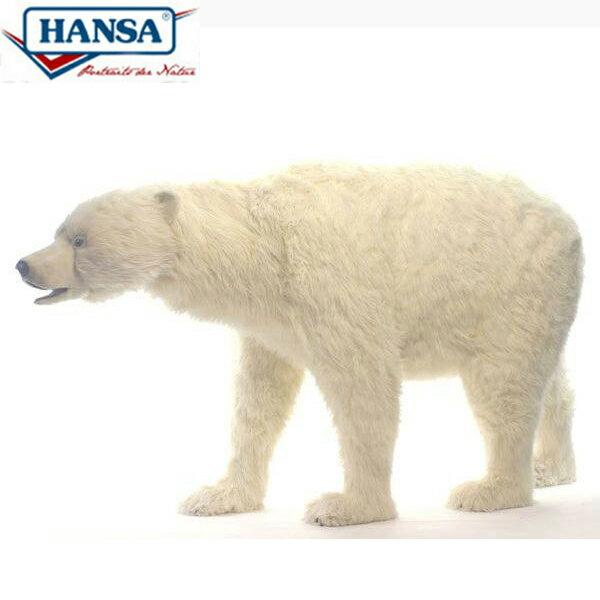 HANSA 4970 ホッキョクグマ240 全長:240cm POLAR BEAR BH4970 ぬいぐるみ ハンサ 北極熊 クリスマス 誕生日 プレゼント 動物 犬 猫 鳥 うさぎ ペンギン アニマル 置物 人形 フィギュア KOESEN ケーセン カロラータ 大きい マスコット 実物大 大型