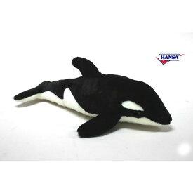 HANSA 5024 シャチ53 全長:53cm ORCA BH5024 ぬいぐるみ ハンサ クリスマス 誕生日 プレゼント 動物 犬 猫 鳥 うさぎ ペンギン アニマル 置物 人形 フィギュア KOESEN ケーセン カロラータ 大きい マスコット 実物大 大型