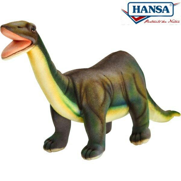 HANSA 6134 ブロントサウルス39 全長:39cm BRONTOSAURUS BH6134 ぬいぐるみ ハンサ クリスマス 誕生日 プレゼント 動物 犬 猫 鳥 うさぎ ペンギン アニマル 置物 人形 フィギュア KOESEN ケーセン カロラータ 大きい マスコット 実物大 大型