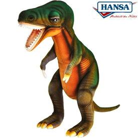 HANSA 6138 ティラノザウルス24 全長:24cm T-REX BH6138 ぬいぐるみ ハンサ クリスマス 誕生日 プレゼント 動物 犬 猫 鳥 うさぎ ペンギン アニマル 置物 人形 フィギュア KOESEN ケーセン カロラータ 大きい マスコット 実物大 大型