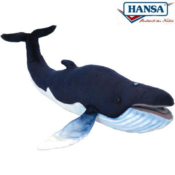HANSA 6289 ザトウクジラ59 全長:59cm HUMPBACK WHALE BH6289 ぬいぐるみ ハンサ 鯨 クリスマス 誕生日 プレゼント 動物 犬 猫 鳥 うさぎ ペンギン アニマル 置物 人形 フィギュア KOESEN ケーセン カロラータ 大きい マスコット 実物大 大型
