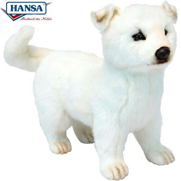 HANSA 6342 ホッカイドウケン33 全長:33cm HOKKAIDO DOG BH6342 ぬいぐるみ ハンサ 北海道犬 クリスマス 誕生日 プレゼント 動物 犬 猫 鳥 うさぎ ペンギン アニマル 置物 人形 フィギュア KOESEN ケーセン カロラータ 大きい マスコット 実物大 大型