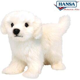 HANSA 6583 コイヌ20 全長:20cm GREAT PYRENEES STA BH6583 ぬいぐるみ ハンサ 子犬 クリスマス 誕生日 プレゼント 動物 犬 猫 鳥 うさぎ ペンギン アニマル 置物 人形 フィギュア KOESEN ケーセン カロラータ 大きい マスコット 実物大 大型