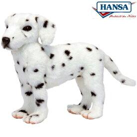 HANSA 6725 ダルメシアン33 全長:33cm DALMATIAN JACQU BH6725 ぬいぐるみ ハンサ クリスマス 誕生日 プレゼント 動物 犬 猫 鳥 うさぎ ペンギン アニマル 置物 人形 フィギュア KOESEN ケーセン カロラータ 大きい マスコット 実物大 大型