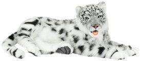 HANSA 6999 ユキヒョウ70 全長:70cm SNOW LEOPARD JACQ BH6999 ぬいぐるみ ハンサ クリスマス 誕生日 プレゼント 動物 犬 猫 鳥 うさぎ ペンギン アニマル 置物 人形 フィギュア KOESEN ケーセン カロラータ 大きい マスコット 実物大 大型