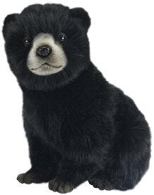 HANSA 7040 クロクマ(コ)25 全長:25cm BEAR CUB BLACK BH7040 クマ 熊 ベア ベアー テディベア 子供 赤ちゃん ぬいぐるみ ハンサ クリスマス 誕生日 プレゼント 動物 犬 猫 鳥 アニマル 置物 人形 フィギュア KOESEN ケーセン カロラータ 大きい 実物大 大型