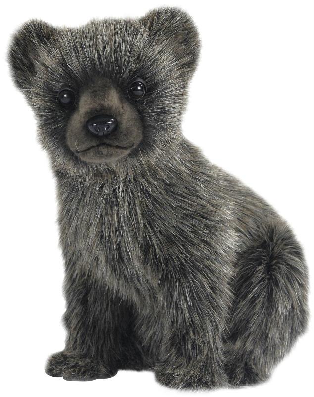 HANSA 7041 ハイイログマ(コ)25 全長:25cm GRIZZLY BEAR BH7041 ぬいぐるみ ハンサ 灰色熊 グリズリー クリスマス 誕生日 プレゼント 動物 犬 猫 鳥 うさぎ ペンギン アニマル 置物 人形 フィギュア KOESEN ケーセン カロラータ 大きい マスコット 実物大 大型