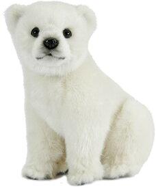 HANSA 7042 ホッキョクグマ(コ)25 全長:25cm POLAR BEAR BH7042 北極熊 クマ 熊 ベア ベアー テディベア 子供 赤ちゃん ぬいぐるみ ハンサ クリスマス 誕生日 プレゼント 動物 犬 猫 鳥 アニマル 置物 人形 フィギュア KOESEN ケーセン カロラータ 大きい 実物大 大型