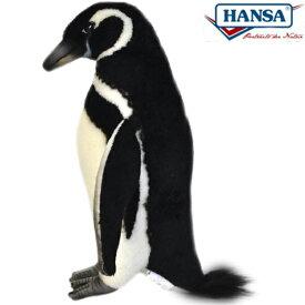 HANSA 7083 マゼランペンギン22 全長:22cm MAGELLANICP BH7083 ぬいぐるみ ハンサ クリスマス 誕生日 プレゼント 動物 犬 猫 鳥 うさぎ ペンギン アニマル 置物 人形 フィギュア KOESEN ケーセン カロラータ 大きい マスコット 実物大 大型
