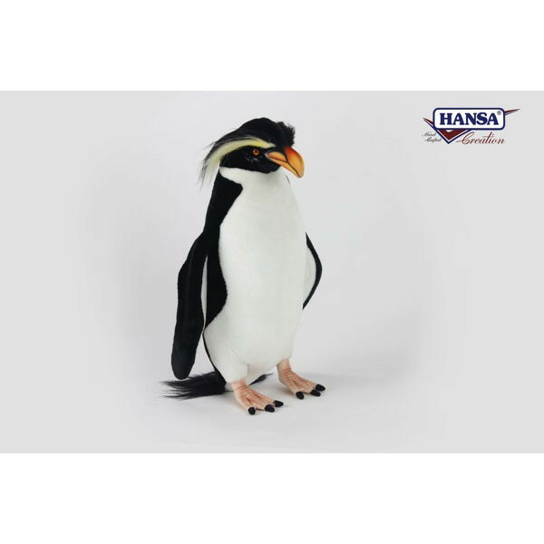 HANSA 7110 フィヨルドランドペンギン42 全長:42cm FIORLA BH7110 ぬいぐるみ ハンサ クリスマス 誕生日 プレゼント 動物 犬 猫 鳥 うさぎ ペンギン アニマル 置物 人形 フィギュア KOESEN ケーセン カロラータ 大きい マスコット 実物大 大型